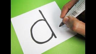 Comment activer la Lettre ''D'' dans un dessin animé DINOSAURE ! Amusant avec des Alphabets de Dessin pour les enfants
