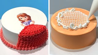 Tasty & Beautiful Cake Decorating Tutorial for Beginners   Most Satisfying Chocolate Video! So Yummy