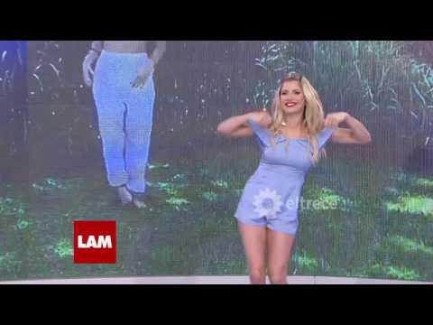 Laurita Fernández hizo el desafío del baile viral de Lali Espósito