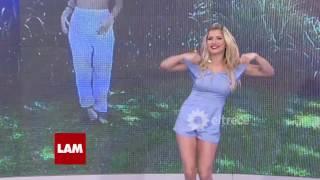Laurita Fernández hizo el desafío del baile viral de Lali Espósito thumbnail