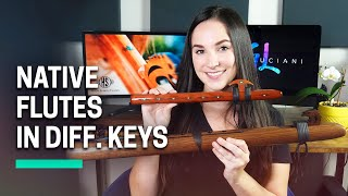 Different Keys of Native Flutes w/ Demos!