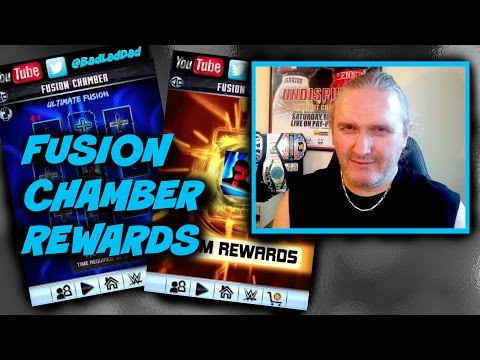 Fusion Chamber Rewards : WWE SuperCard S3 Ep42
