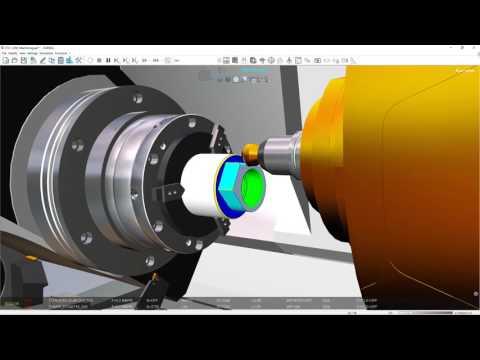 MILL-TURN - CTX1250_Eureka Virtual Machining 8.1