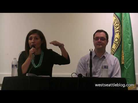 City Council P-8 candidates at West Seattle forum