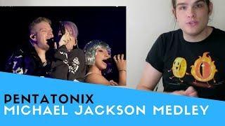 Voice teacher Sam Johnson's reaction to Pentatonix performing a Mic...