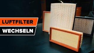 Luftfilter selbst auswechseln - gebührenfreie Videoanleitung