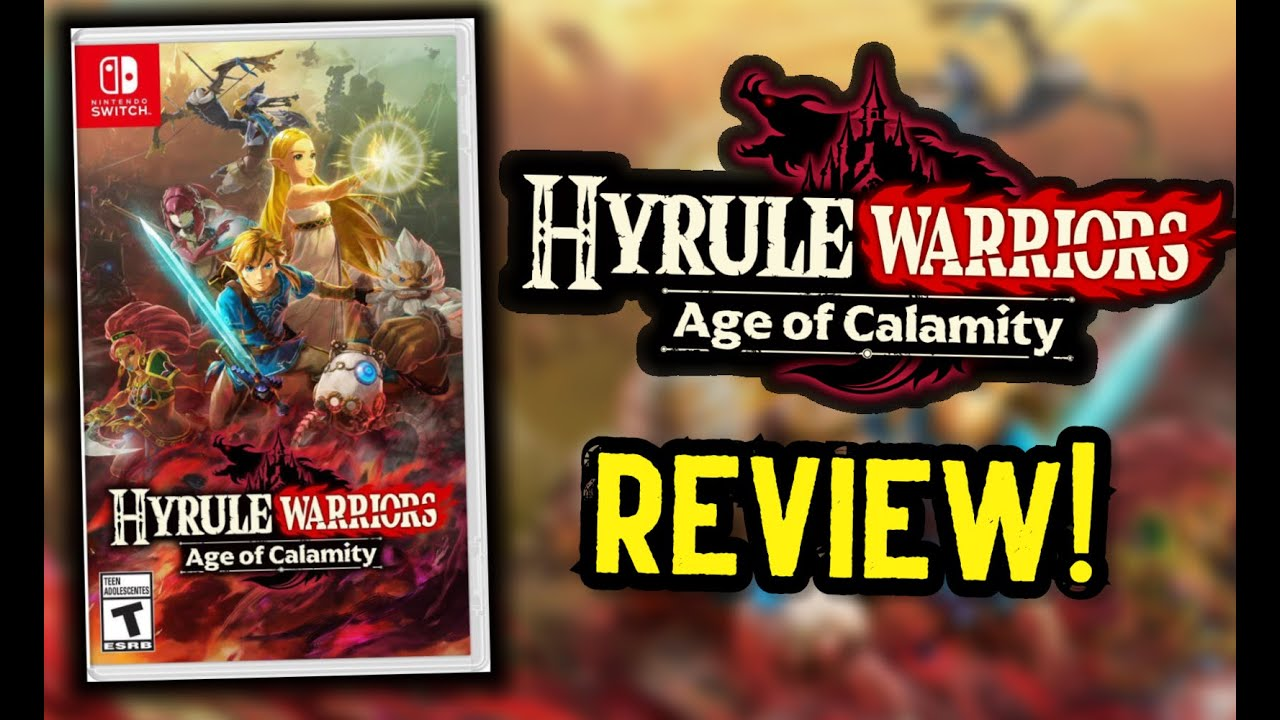 Hyrule Warriors Age Of Calamity Review A Must Play For Zelda Fans On Switch Youtube