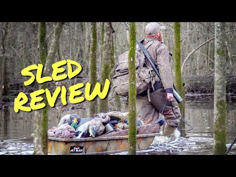 Best SLED for Duck Hunting??? (Shappell Jet Sled Review)