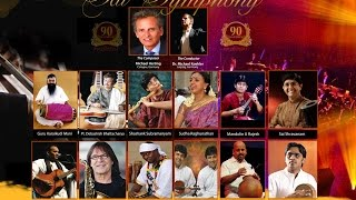GLOBAL SAI SYMPHONY - JAWAHARLAL NEHRU STADIUM, DELHI - 28 NOV 2015