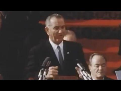 Lyndon B. Johnson inaugural address: January 20, 1965