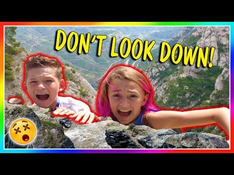 OUR KIDS FALL OFF A CLIFF!😱 | We Are The Davises