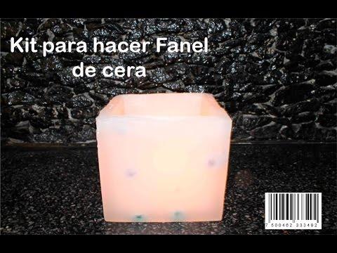fc6b8b7fab6 Cómo hacer Fanales de Parafina  (Pantallas de cera). - YouTube