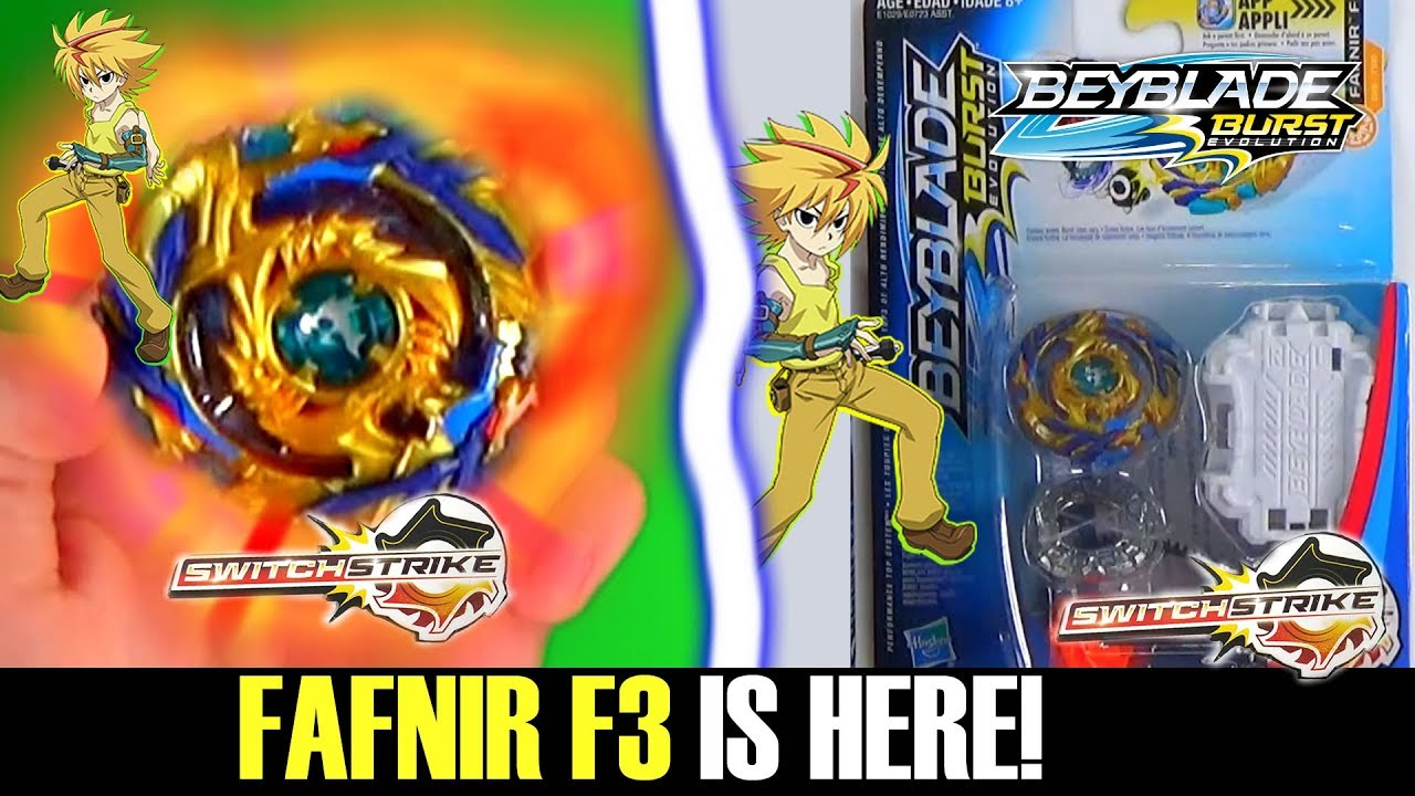 Drain Fafnir F3 Is Here Beyblade Burst Evolution Switchstrike