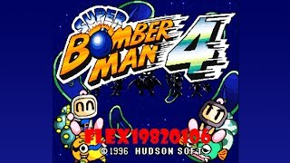 Super Bomberman 4 (english translation) - SNES: Super Bomberman 4 (en) longplay [95] - User video