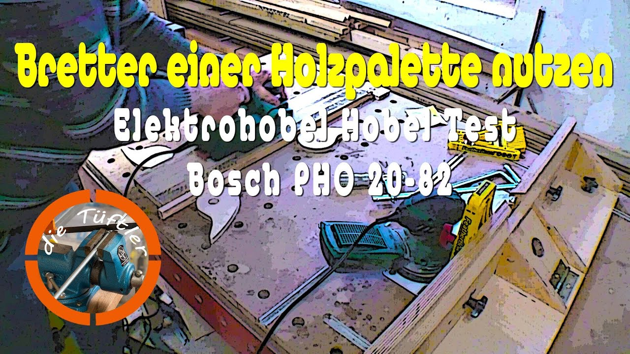 elektrohobel hobel test bosch pho 20 82 youtube. Black Bedroom Furniture Sets. Home Design Ideas