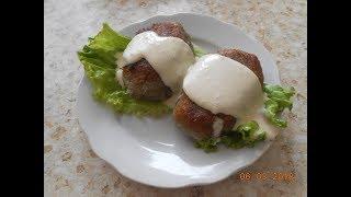 Колдуны ( драники с фаршем внутри ) Вкусный рецепт !!!