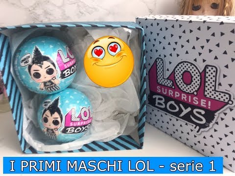 Il Mio Primo LOL SURPRISE BOYS- 1 Serie in ITALIA!! | ORIGINALE! By Lilla