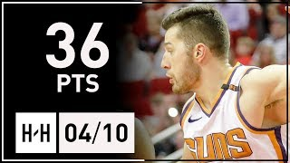 Alec Peters Full Highlights Suns vs Mavericks (2018.04.10) - 36 Points, 9 Reb off the Bench