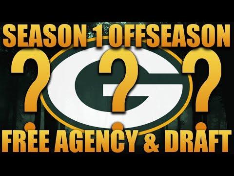 Madden 18 Packers Franchise   Primetime 2.0 League Season 1 Offseason Draft and Free Agency!