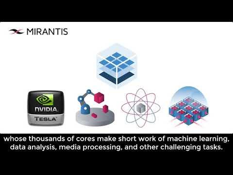 Nvidia GPU support in Mirantis Kubernetes Engine