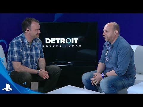 Detroit: Become Human - E3 2016 LiveCast | PS4