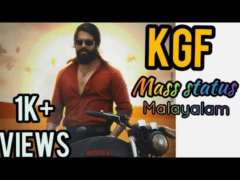 Kgf malayalam whatsapp status|kgf malayalam movie scenes|kgf malayalam mass status|kgf malayalam