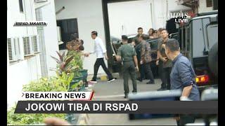 Jenguk Wiranto, Presiden Jokowi Tiba di RSPAD