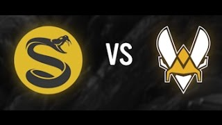SPLYCE Vs VITALITY Highlights - Week 9 EULCS Spring 2017