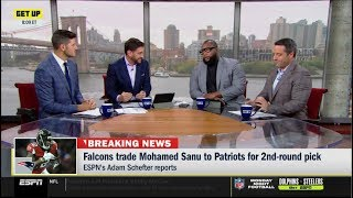 ESPN GET UP | [BREAKING NEWS] Falcons trade Mohamed Sanu to Patriots for 2nd-round pick