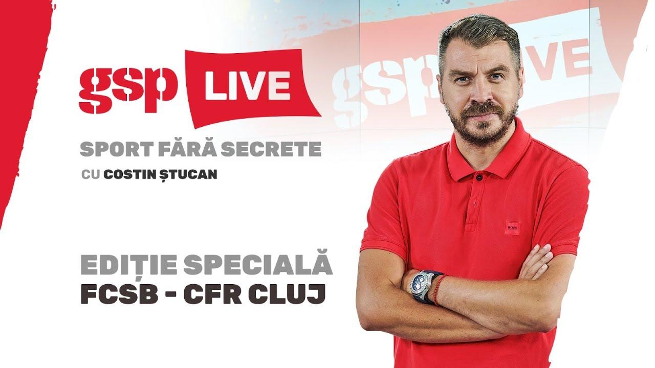GSP Live, ediție specială: FCSB - CFR Cluj. FCSB conduce la pauză, scor 1-0!