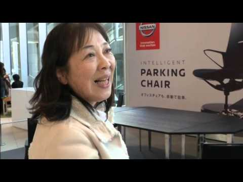 The ultimate in laziness ? A self parking chair 07 March 2016