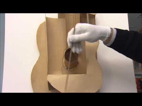Picasso: Guitars 1912-1914 | Picasso's Cardboard Guitar (1912)