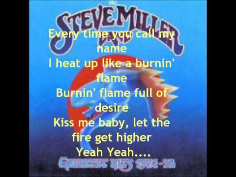 The Steve Miller Band  Abracadabra with lyrics