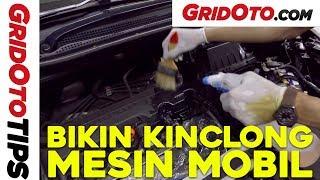Cara Mudah Membersihkan Mesin Mobil | How To | GridOto | Tips