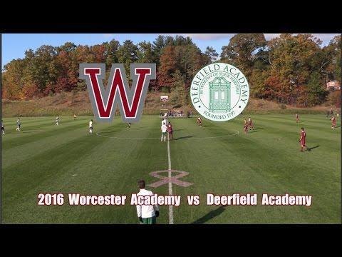 2016 Worcester Academy Soccer vs  Deerfield