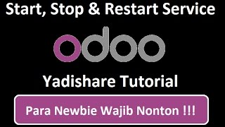 Start, Stop And Restart Odoo Service From Linux Terminal