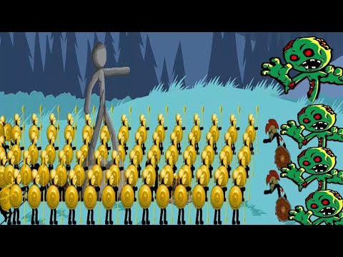 Stick War Legacy Endless Mode Zombies HACKED - Gold Sparetrons Invasion