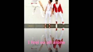 Fun. All Alone - Lyrics On Screens