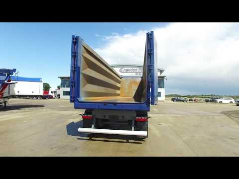 Newton Steel Tipping Trailer - The Lightest
