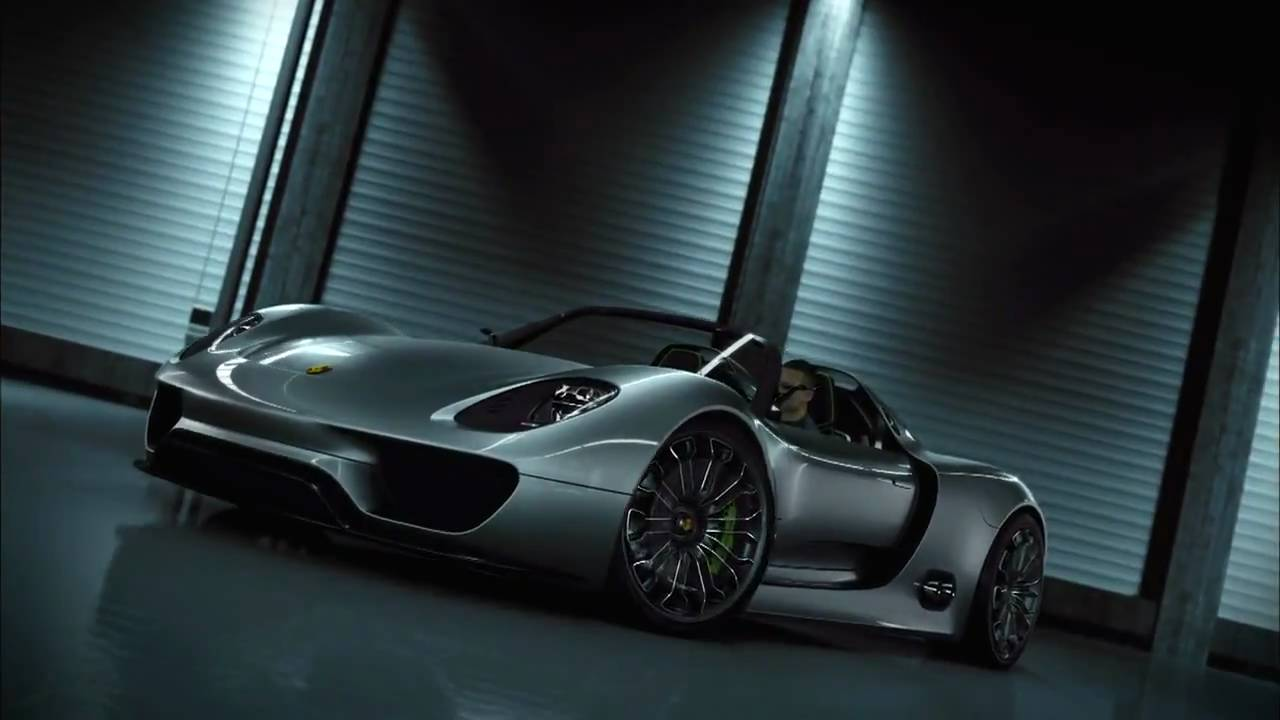 porsche 918 spyder concept promotional video youtube. Black Bedroom Furniture Sets. Home Design Ideas