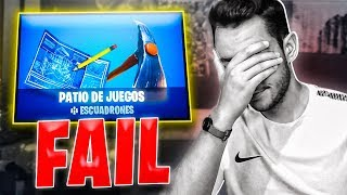 FAILS Y FUNNY MOMENTS en PATIO DE JUEGOS de FORTNITE - TheGrefg