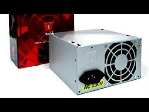 Iball ZPS-281 SMPS Review | Computer Power Supply Demo - YouTube