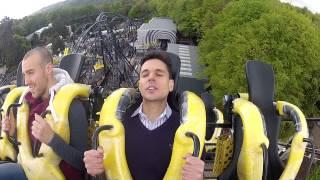 Express reporter Nathan Rao rides Alton Tower