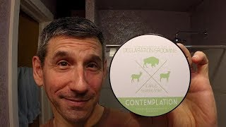 """Declaration Grooming """"Contemplation"""" shave soap and aftershave"""