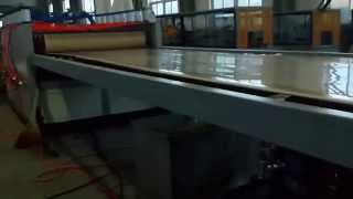 India Customer  Wpc Pvc Co-extrusion Foam Board Machine--double Extruders