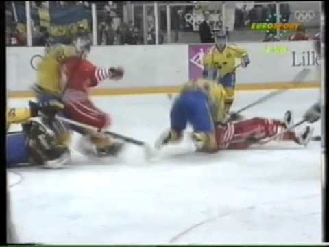 Olympic Games 1994. 02.27 FINAL. Sweden - Canada