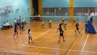 2017 B Div National Girls CGS vs AMK 2-0 1st set