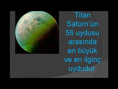 Satürn'ün Gizemli Uydusu Titan Hakkında Bilinmeyenler