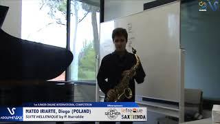 Diego Mateo Iriarte – Suite Hellenique by Pedro Iturralde