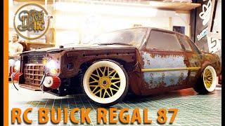 RC DRIFT CAR - BUICK REGAL 87 Custom Body